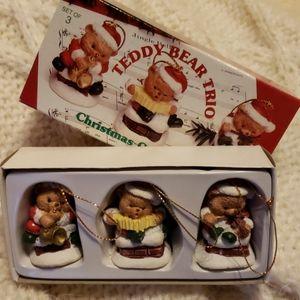 Other - Teddy Bear Ornament Trio